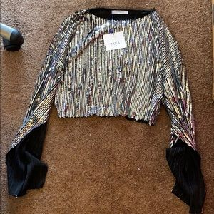 Sequence Zara  top Size: Small